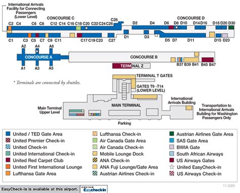 iad airport map dulles airport layout pictures to pin on pinsdaddy