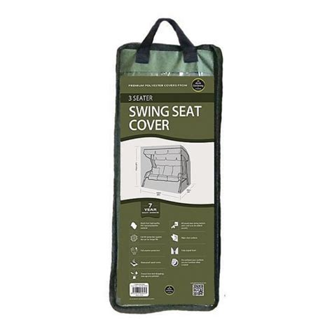 3 Seater Swing Seat Cover Green