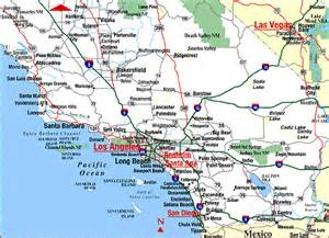 coastal map of southern california about socal