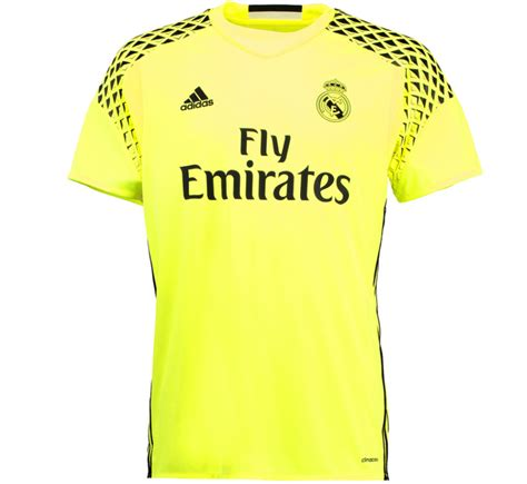 Jersey Real Madrid Away 2016 2017 2016 2017 real madrid adidas away goalkeeper shirt b41453