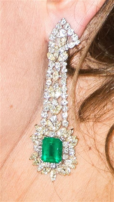 Green Chandelier Catherine S Earrings