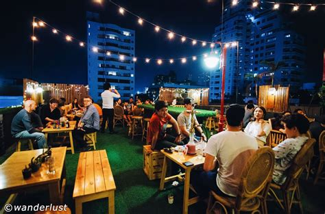 Best Roof Top Bars In by 11 Alternative Rooftop Bars In Bangkok The City S Best
