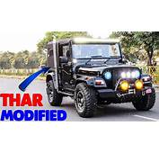 Top 5  Modified Mahindra Thar Best Ever Customized