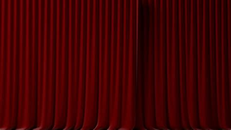 red velvet drapes 3d red curtain video stock footage