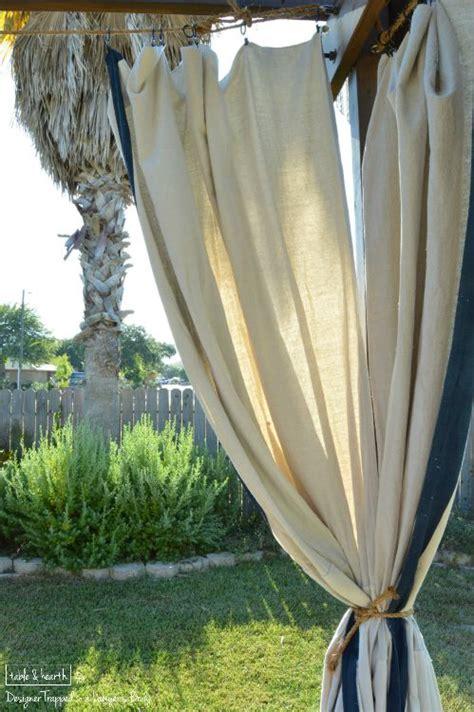 no sew outdoor curtains no sew outdoor curtains designer trapped