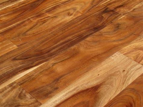 Acacia Natural Hand Scraped Solid Hardwood Floor (Sample