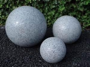 kugel garten granit kugel grau 216 40 cm poliert ungebohrt pumpen