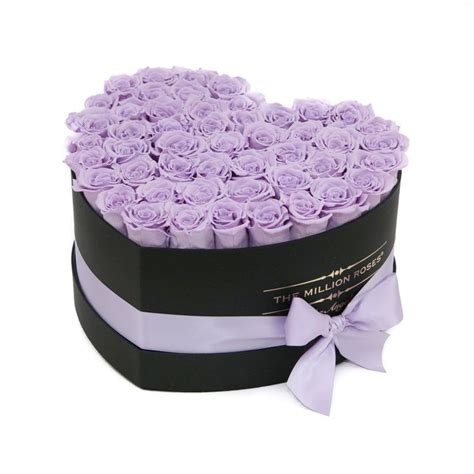 Box A Single Lavender Preserved Flower Represent Enchantment 12 best the million roses images on
