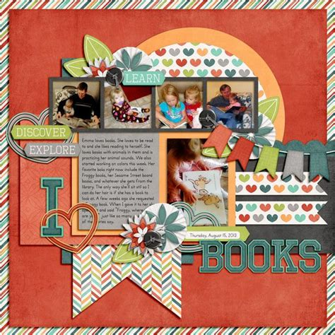 scrapbook layout idea books scrapbook layout scrapbooking etc pinterest