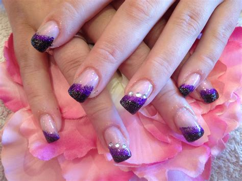 easy nail art with two colours 27 simple acrylic nail designs ideas design trends