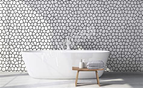 Salle De Bain Papier Peint by Papiers Peints Noir Et Blanc Mur Aux Dimensions Myloview Fr
