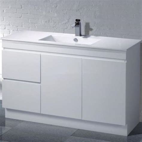 noah 1200 mm vanity unit on kickboard acqua bathrooms