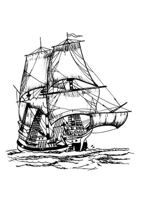 dessin bateau de peche dessin 224 colorier d un grand navire de p 234 che coloriages