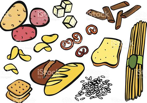 2 carbohydrates foods food clipart carbohydrate pencil and in color food