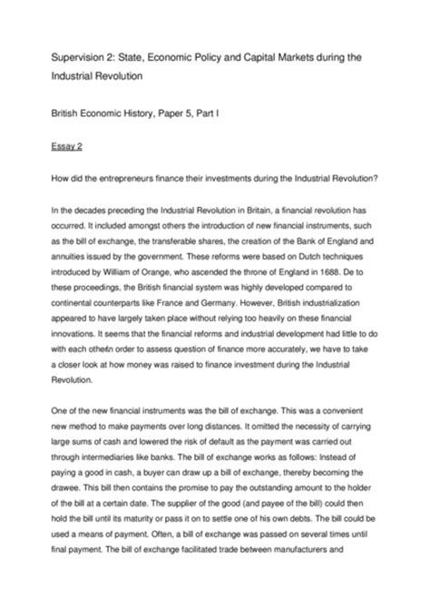 The Industrial Revolution Essay by Essay On The Industrial Revolution In Britain Industrial Revolution Great Britain Essay