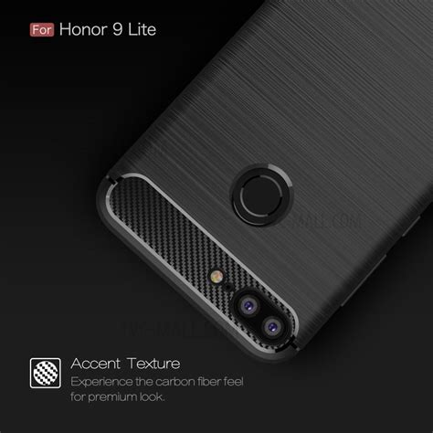 Huawei 2i Softcase Texture Carbon Casing Cover Silikon Tpu Carbon Fiber Texture Brushed Tpu Mobile Phone For