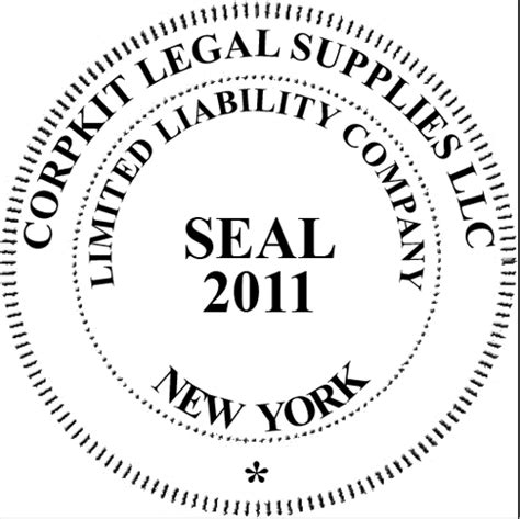 company seal st template instant electronic digital company seal