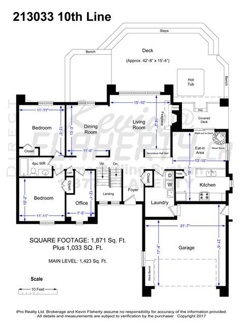 floorplan main line mini 213033 10th line amaranth real estate listing