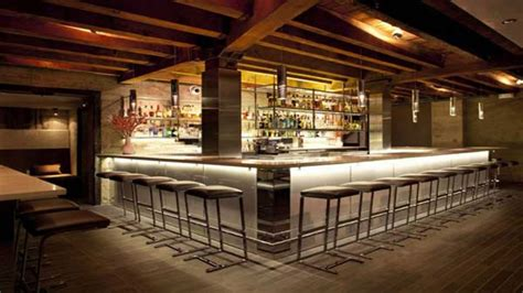 modern home bar design layout modern restaurant bar design small restaurant design ideas