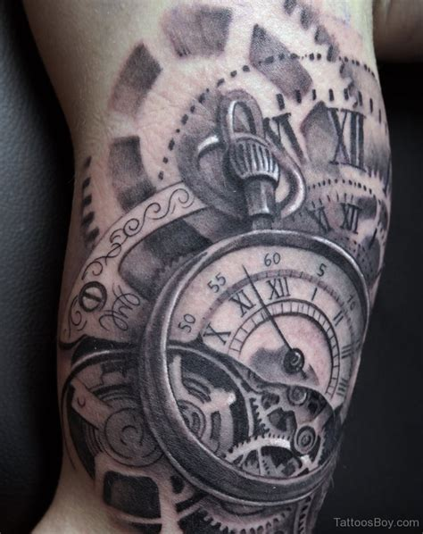 time tattoo clock tattoos designs pictures page 12