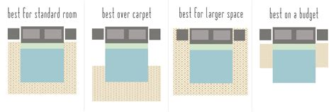how to place a rug under a bed interior motives how to select the perfect rug