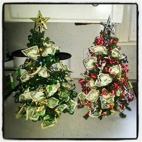 i made christmas money trees gifting pinterest