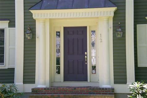 De Jong Dream House Our Purple Door Plum Front Door