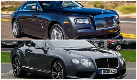 bentley vs rolls royce bentley gt vs rolls royce which is more preferable pics