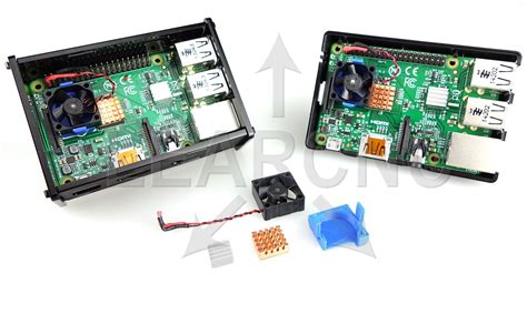 raspberry pi pc fan controller raspberry pi 3 active fan cooling kit learcnc pi ebay