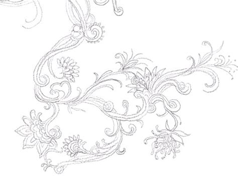 flower pattern to draw illustrating the flower pattern web designer wall