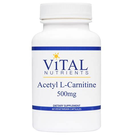 Acetyl L Carnitine Detox by Acetyl L Carnitine 500mg
