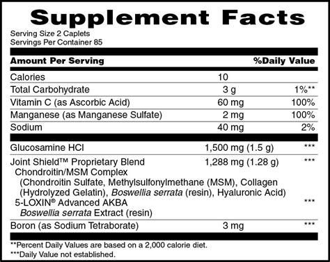 supplement b 27 osteo bi flex joint health strength 170 caplets