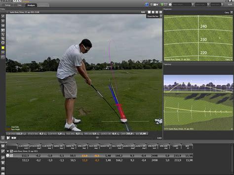 trackman golf swing analysis trackman paul weyland golf