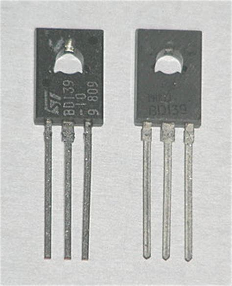 pinout transistor bd139 bd139 datasheet pdf vcbo 80v npn transistor st