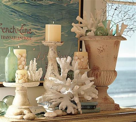 nautical themed decorations for home enhancing nautical decor theme with sea shell crafts and