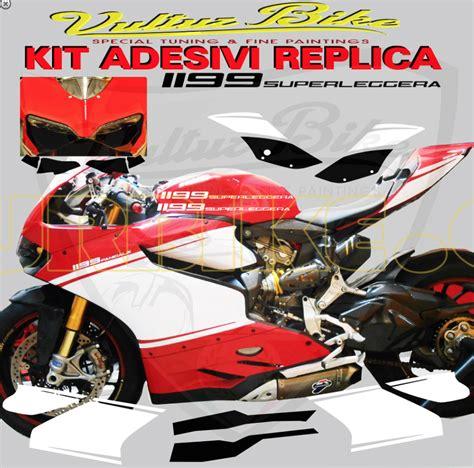 Ducati 1199 Sticker Kit by Vulturbike Ducati Panigale 899 1199 Superleggera Sticker