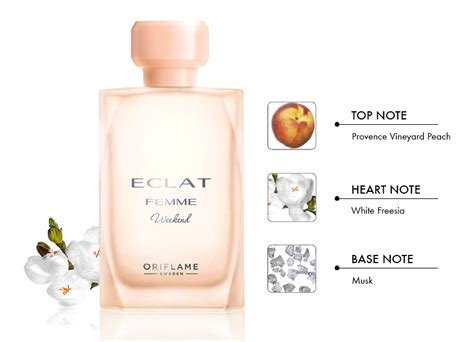 eclat femme weekend oriflame perfume a new fragrance for 2015