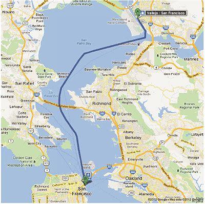san francisco ferry map san francisco bay 171 olemike s