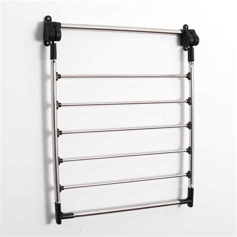 rack of greenway greenway indoor wall mount drying rack reviews wayfair