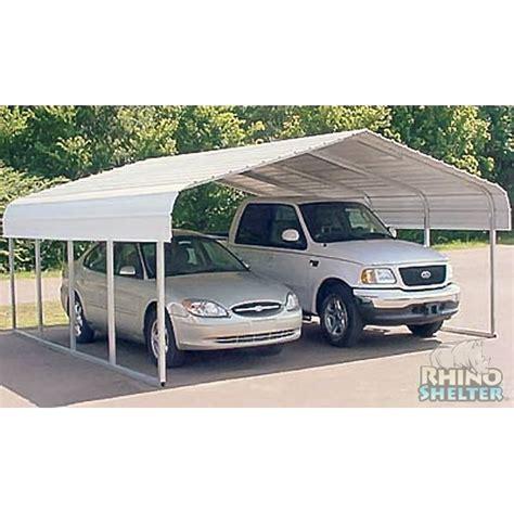 2 Vehicle Carport Carports 2 Carport