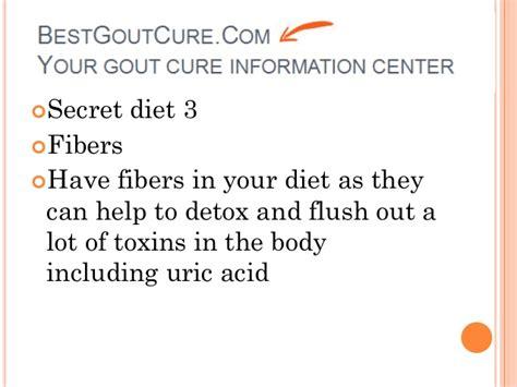 Acid Detox Symptoms by Detox Diet For Uric Acid How To Treat Gout Symptoms