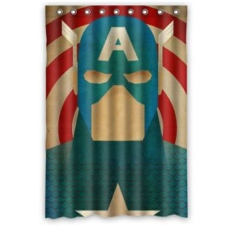 captain america shower curtain captain america shower curtain superhero collection