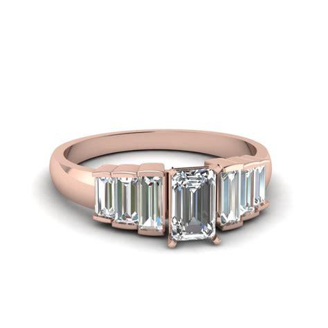 Emerald Cut by Emerald Cut Baguette Accents 7 Engagement