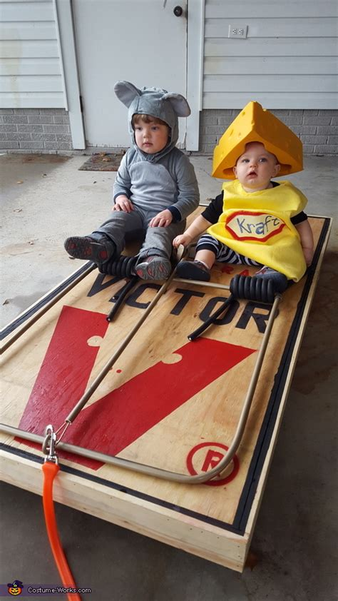 mouse  cheese babies costume