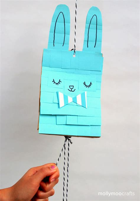 Paper Bag Pinata Bag Goodies Bag Kantong Friends paper bag bunny pinata pink stripey socks