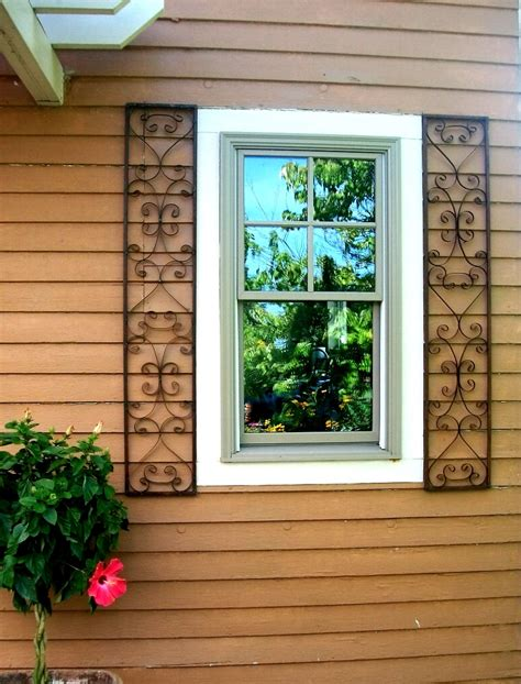 shutters for house windows wrought iron house shutters