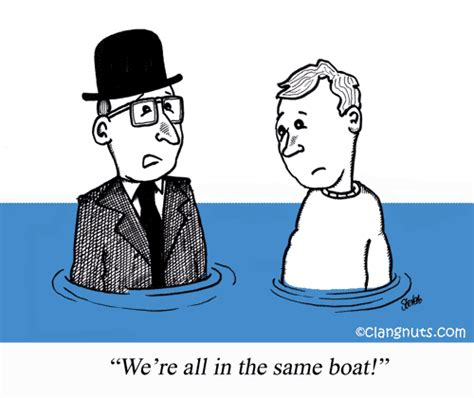 we re all in the same boat english idioms sayings and expressions we are all in the