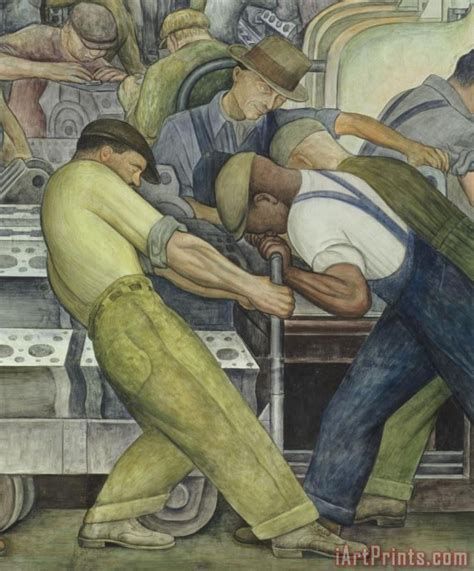 diego rivera detroit industry north wall painting