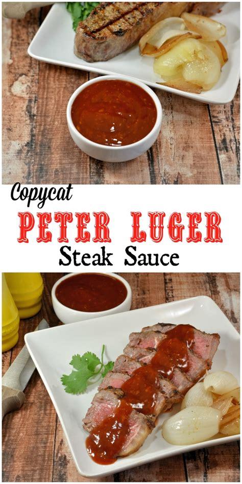 homemade steak sauce quick