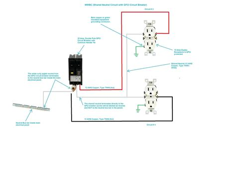 double pole circuit breaker wiring diagram  wiring diagram